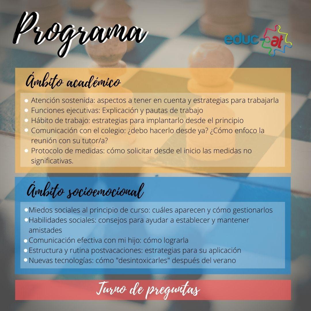 Programa escuela de padres