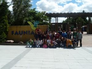 Visita a Faunia Colegio Nuevo Velázquez