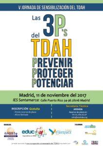 Invitación V Jornada de Sensibilización sobre el TDAH