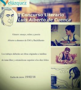 I Certamen Literario Colegio Nuevo Velázquez