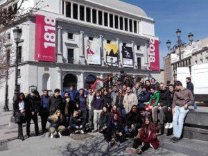 Visita al Teatro Real Colegio Nuevo Velázquez