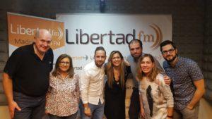 Visita a Libertad FM - Nuevo Velazquez