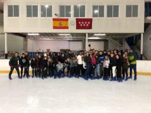 Patinaje sobre hielo - Nuevo Velazquez